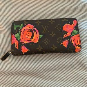 Louis Vuitton Bags - LOUIS VUITTON STEPHEN SPROUSE ROSES ZIPPY WALLET